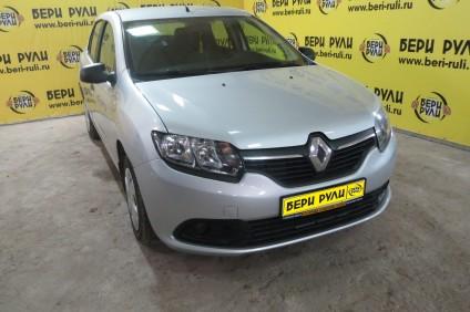 Renault Logan в аренду под выкуп в Бери Рули